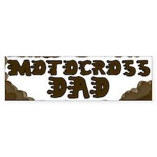 Motocross Dad Bumper Bumper Sticker