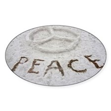 Peace Symbol Decal