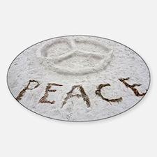 Peace Symbol Decal
