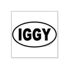 IGGY Euro Oval Sticker