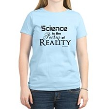 Science is Poetry Women's T-Shirt