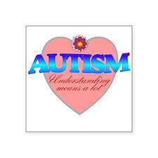 autism understanding Sticker