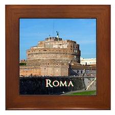 Castel Sant Angelo Framed Tile