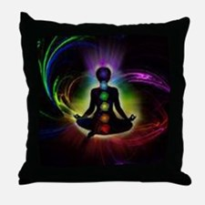CHAKRAS 2 Throw Pillow