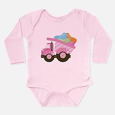 Easter Jelly Bean Dump Truck Long Sleeve Infant Bo