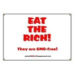 Eat The Rich - They Are GMO-Free! Banner