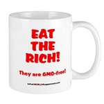 Eat The Rich - They Are GMO-Free! Mug