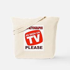 TV STAR Tote Bag