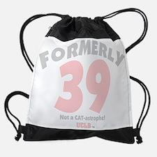 Formerly39CatastrophePink.png Drawstring Bag