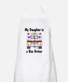 Bus Driver Daughter BBQ Apron