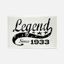 Legend Since 1933 Rectangle Magnet
