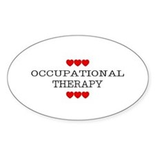 Occupational Therapy - Oval Decal