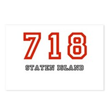 718 Postcards (Package of 8)