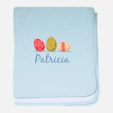 Easter Egg Patricia baby blanket