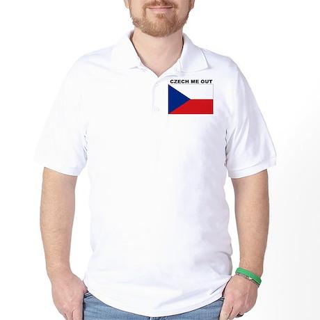 CZECH REPUBLIC SHIRT, FUNNY C Golf Shirt