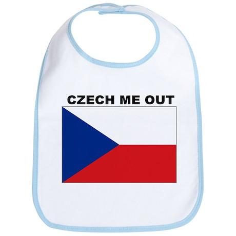 CZECH REPUBLIC SHIRT, FUNNY C Bib