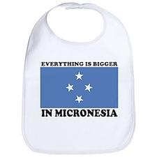 MICRONISIA SHIRT, FUNNY COUNT Bib