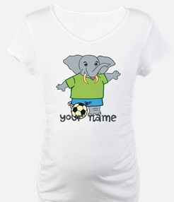 Personalized Soccer Elephant Shirt