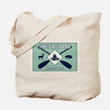 Shenandoah National Park Camping and Padd Tote Bag