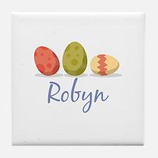 Easter Egg Robyn Tile Coaster