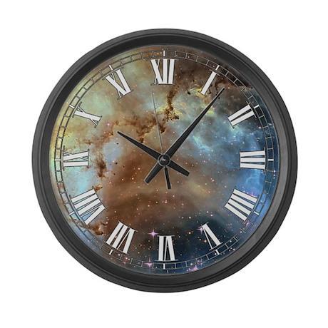 Rosette Nebula Large Wall Clock