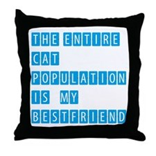 THE ENTIRE CAT POPULATION IS MY BESTFRIEND - BLUE