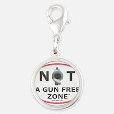 NOT A GUN FREE ZONE Charms