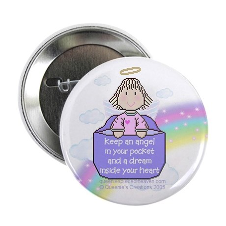 Angel in your pocket Button