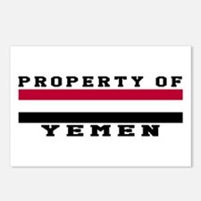 Property Of Yemen Postcards (Package of 8)