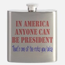 American President Flask