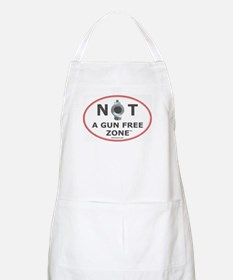 NOT A GUN FREE ZONE Apron