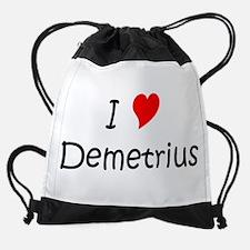Funny Demetrius Drawstring Bag