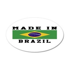 Brazil Made In Wall Decal
