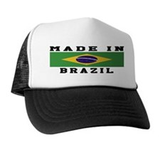 Brazil Made In Trucker Hat