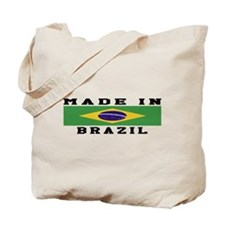 Brazil Made In Tote Bag