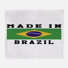 Brazil Made In Throw Blanket