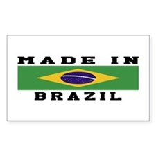 Brazil Made In Decal