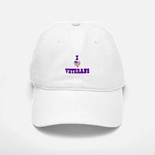 I love Veterans Baseball Baseball Baseball Cap