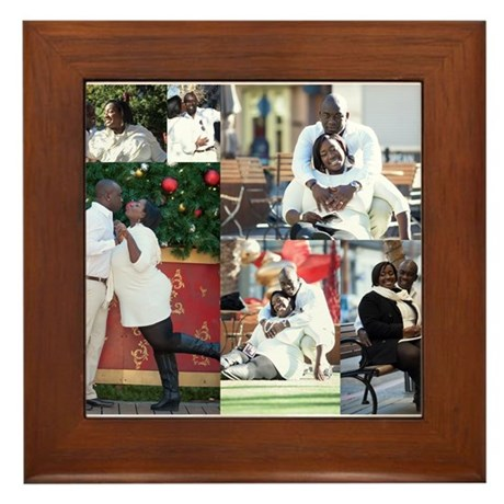Romel Lucas Christmas on the Rpw Framed Tile