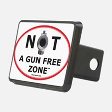 NOT A GUN FREE ZONE Hitch Cover