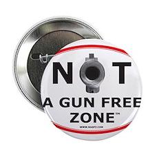"NOT A GUN FREE ZONE 2.25"" Button"
