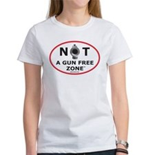 NOT A GUN FREE ZONE T-Shirt