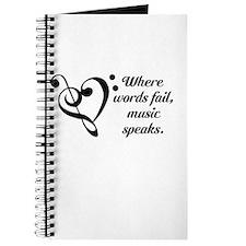 Music Speaks Journal