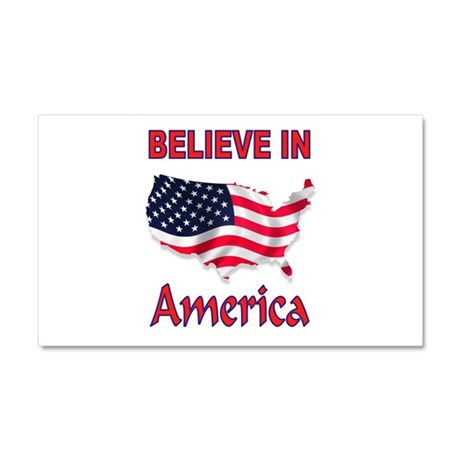 AMERICA FIRST Car Magnet 20 x 12