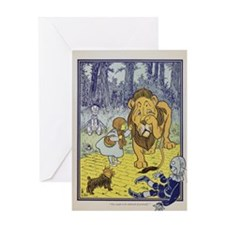 Vintage Wizard of Oz Greeting Card