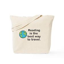 Reading Travel Tote Bag