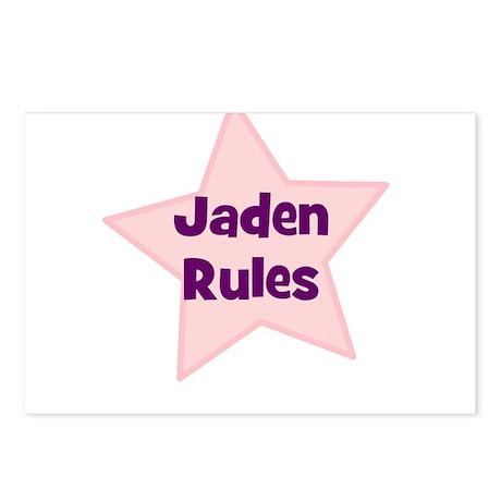 Jaden Rules Postcards (Package of 8)