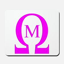 Omega Mu Mousepad