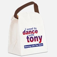 I Want to Dance with Tony Canvas Lunch Bag