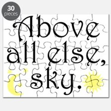 Above All Else Sky Puzzle